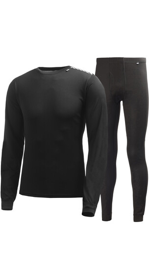 Helly Hansen M's Comfort Dry 2-Pack Base Layer Set Black